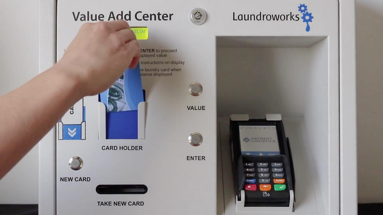 Laundry Card System for Multi-housing- Laundroworks