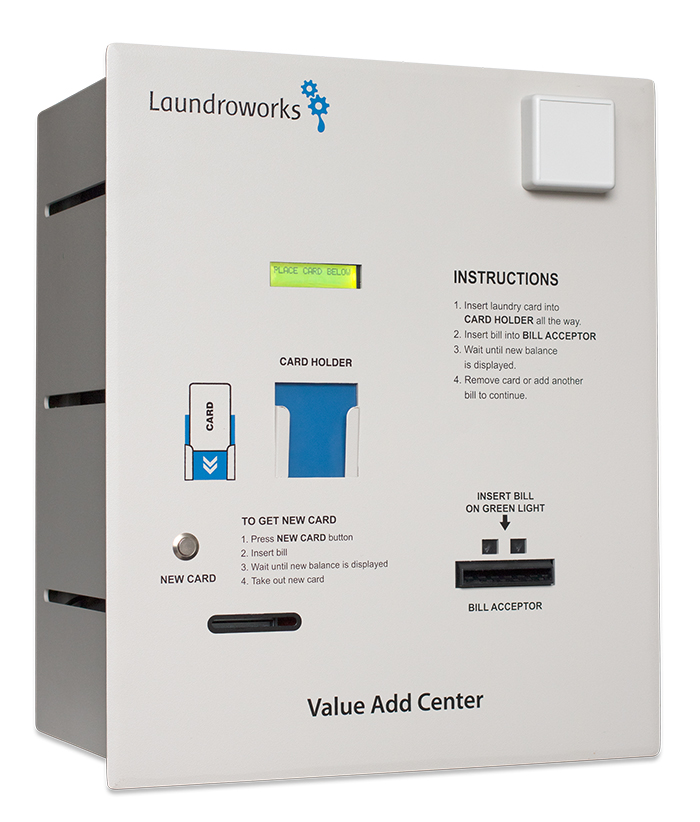 Laundromat Value Add Centers Cash-Only Back-Door
