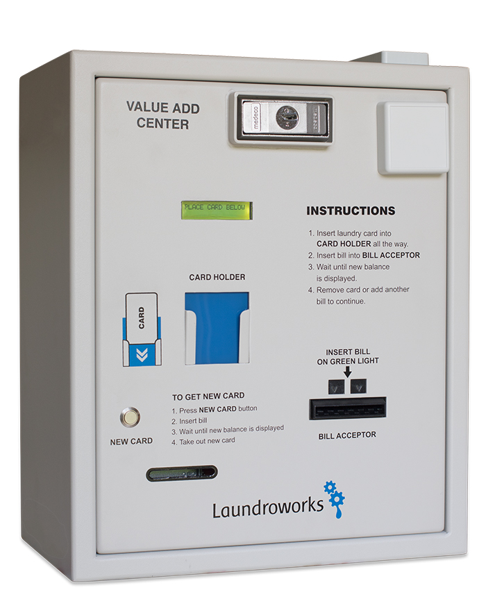 Laundromat Value Add Centers Cash-Only Front-Door